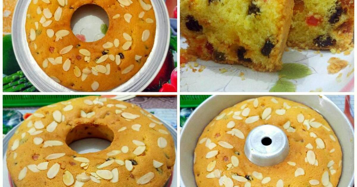 Resep Fruit Cake (Fruit pound cake)