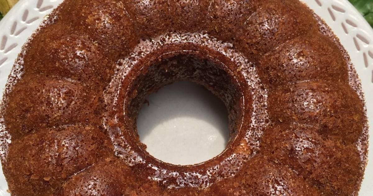Resep Sarang Semut (Ant's Nest Cake) Bolu Karamel