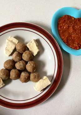 Diet GM Day 5: Bakso+Tahu Kukus
