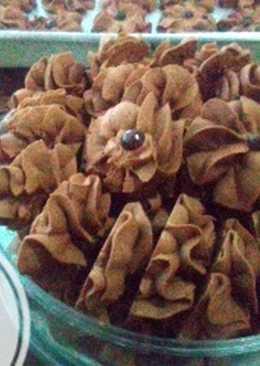 Kue Kering Sagu Coklat
