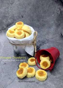 30. Pineapple Thumbprint* #SelasaBisa