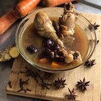 Chicken soup herbal Taiwan (ayam sup herbal)