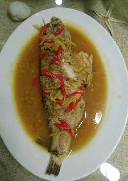 Ikan Kerapu Tim Saus Lemon 🍋
