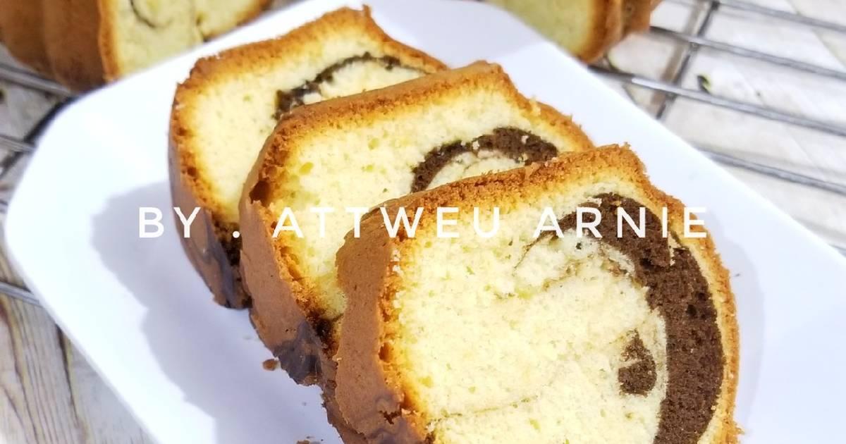 Resep Cake Jadul Sederhana: 2.132 Resep Cake Marmer Lembut Enak Dan Sederhana