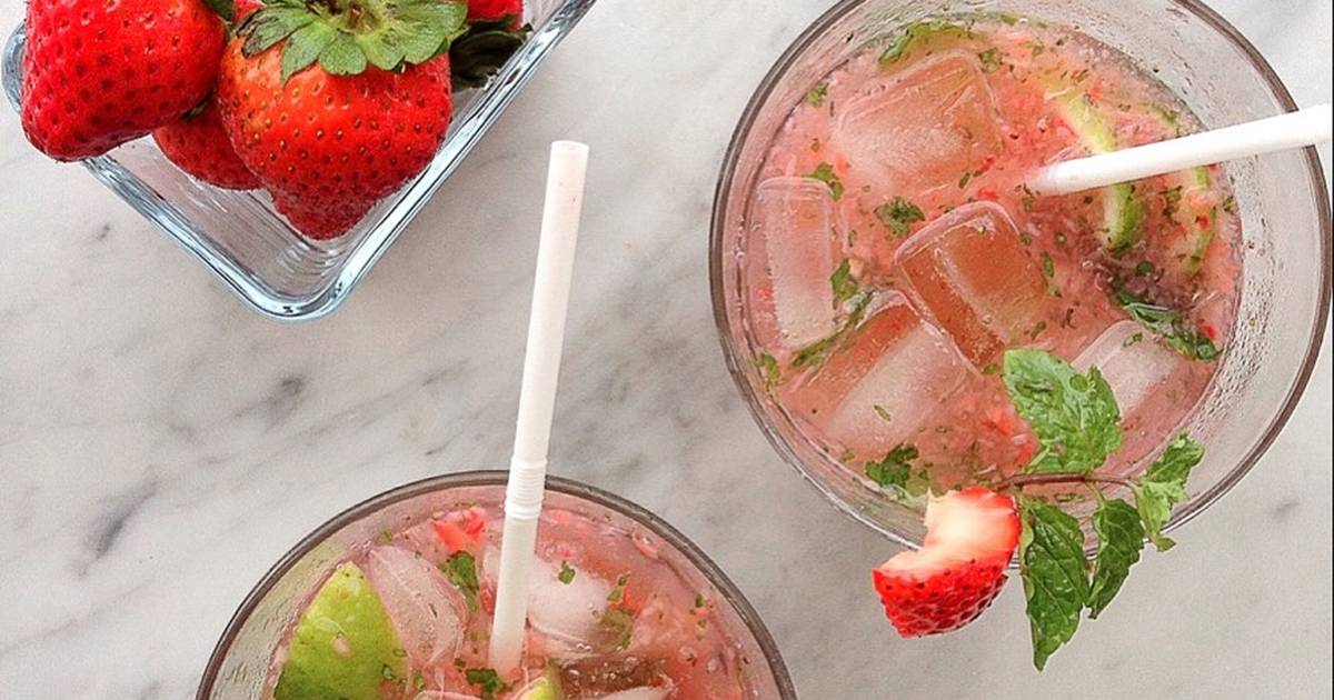 Resep Strawberry Mojito