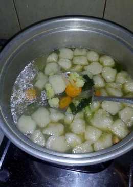 Sup Sayur Tekwan