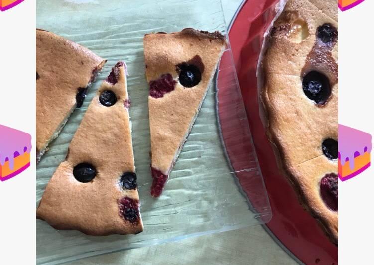 Keto-Berry soft pie