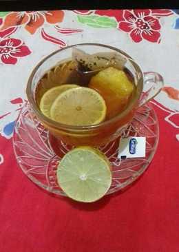 Lemon tea hangat