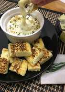 Keto garlic bread #ketopad
