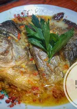 Ikan bawal santan