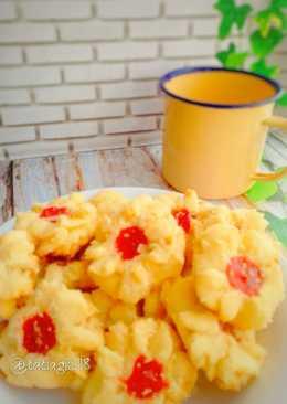 Kue Semprit Susu 3 bahan