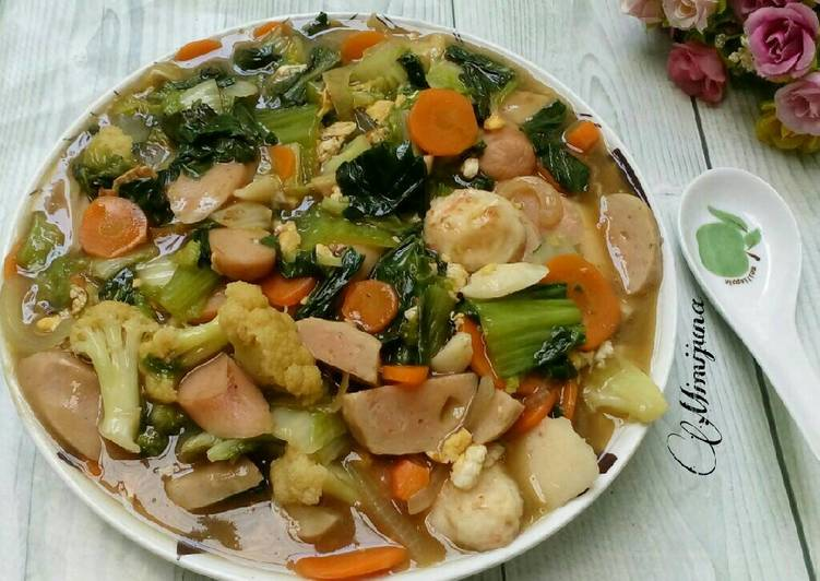 resep Tumis Sayuran ala Cap cay