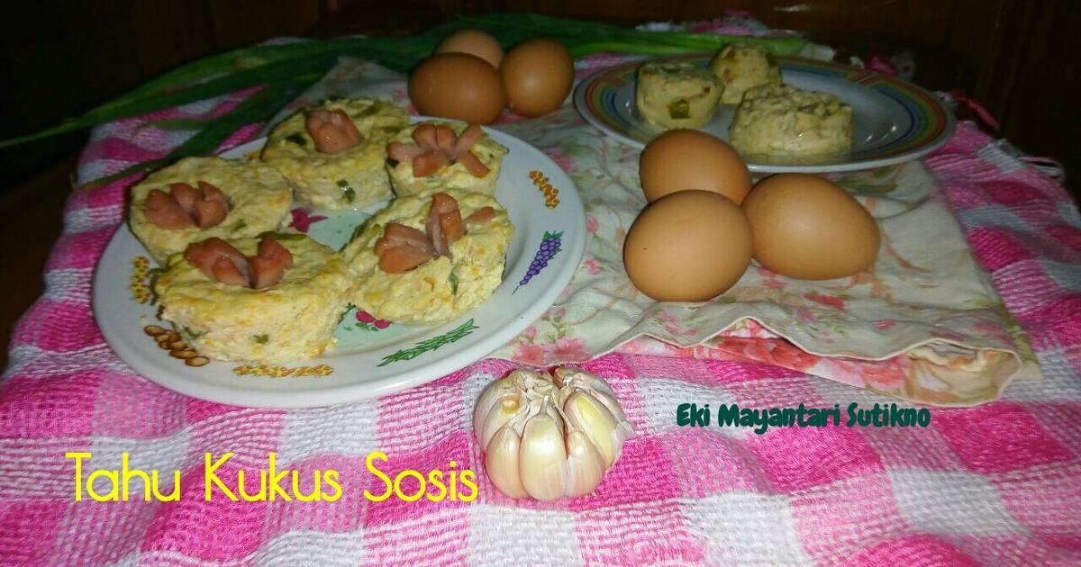 4 resep tahu kukus bunga sosis enak dan sederhana - Cookpad 6350b9b768