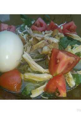 Soto Ayam no santan #berkahramadhan #bikinramadhanberkesan