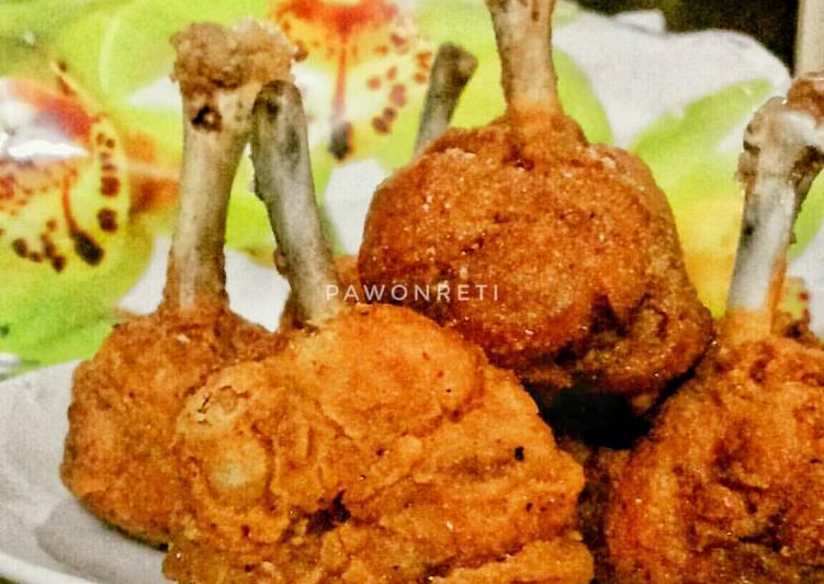 1. Chicken Drum Stick Simple #SeninSemangat