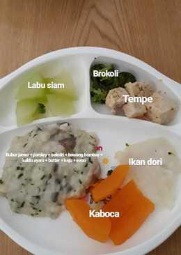 Bubur Jamur, Aneka Finger Food & Dori Kukus