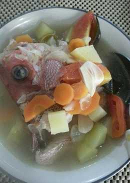 Sop Ikan Kakap Merah