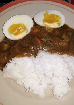 Kare Rice Nasi kare asli jepang