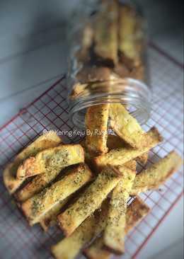 Roti Kering Keju