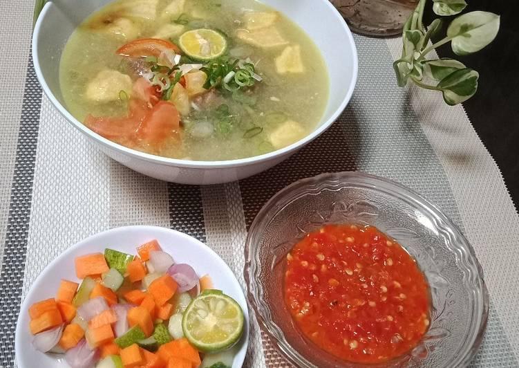 Resep Sobat Soto Betawi Kuah Santan Oleh Hilma Ramdhiani Cookpad