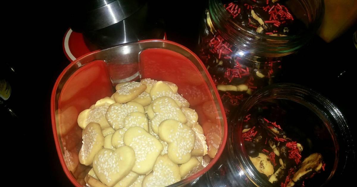 Resep kue kering wijen dan coklat ceres