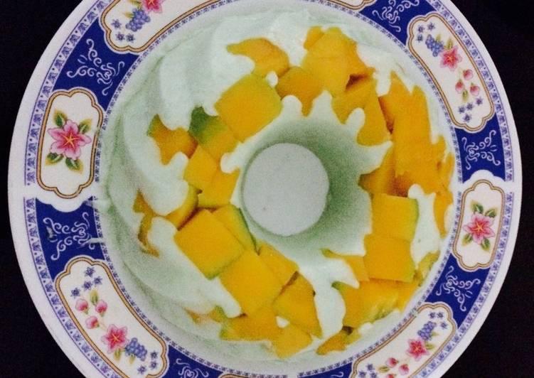 gambar untuk resep Pudding Mangga
