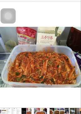 Hari ini kangen rasane kimchi