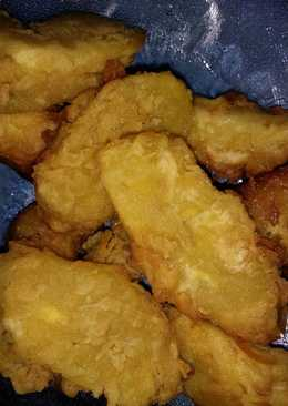 Pisang goreng crispy no tepung roti udd dingin msh kres2...😋😋