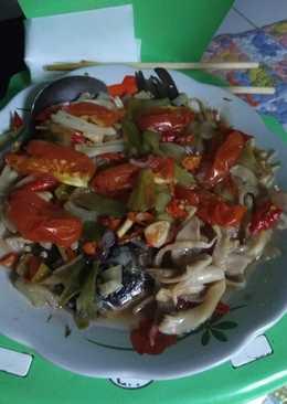 Ikan mas N jamur steam