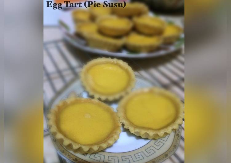 Egg Tart (Pie Susu)