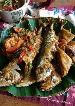 Ikan Gembung Masak Tauco Pedas