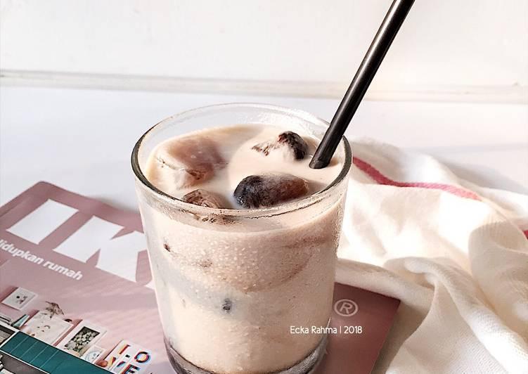 Resep Ice Cube Coffee Dari Ecka Rahma
