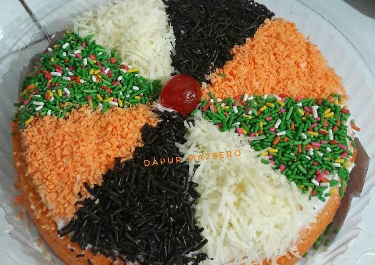 Resep Brownies jeruk toping ala2 pizza By Zeti Dapur Ma2sero