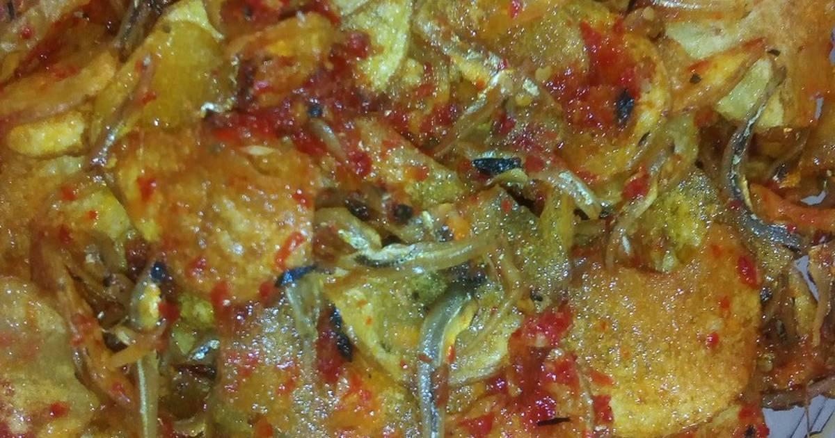 Sambal ikan teri kentang - 22 resep - Cookpad