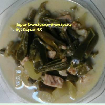 Sayur Krombyang-krombyang sederhana
