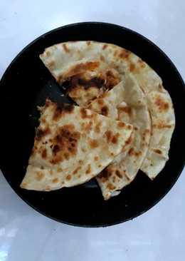 Calzone enoki kulit pangsit
