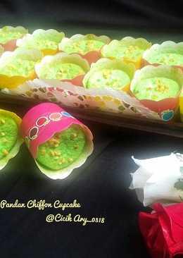 Pandan chiffon cupcake #pr_anekachiffon #maree