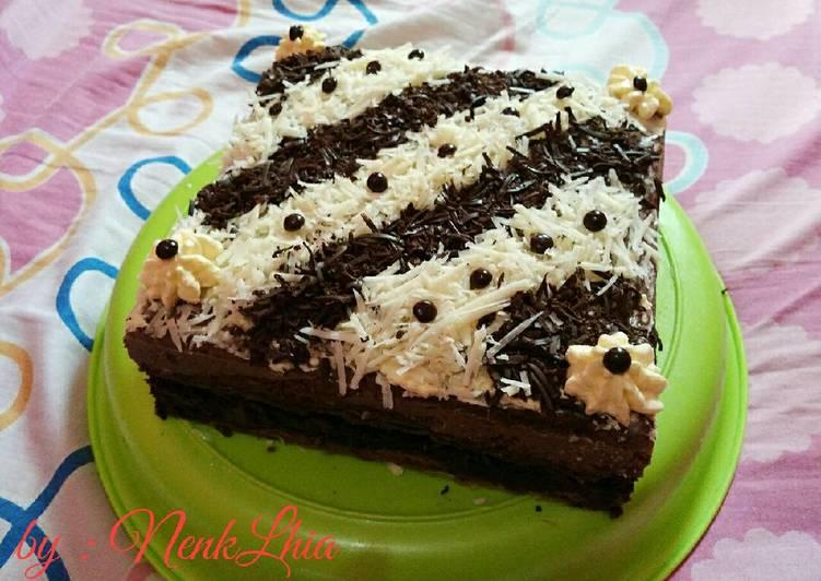 Resep Cake Kukus Coklat Sederhana: Resep Brownies Kukus / Kue Ultah Coklat Oleh Nenk Lhia