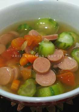 Sup Wortel Oyong Sosis