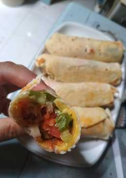 Kebab ayam krispy