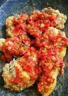 Ayam geprek homemade
