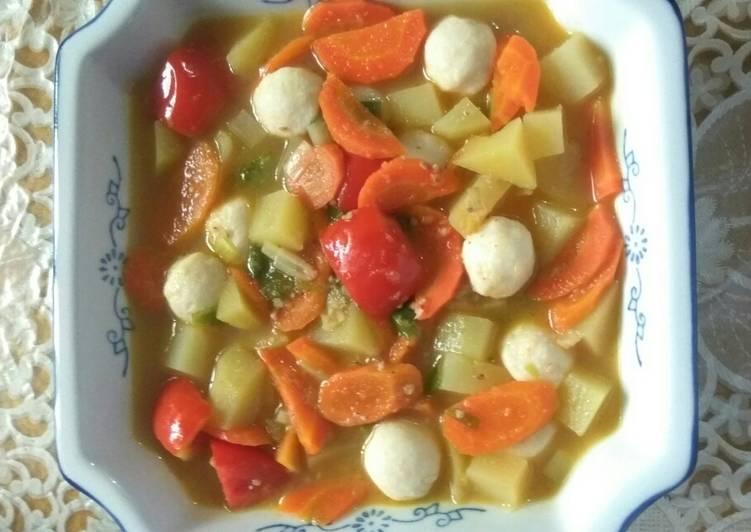 Sop Sayur Bakso
