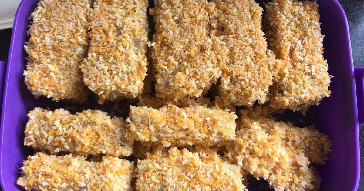 574 resep chicken nugget isi keju enak dan sederhana   cookpad