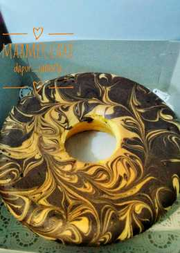 Marmer cake (cake kecebong)