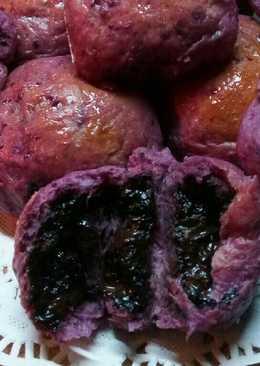 Roti manis ubi ungu ulen tangan tanpa timbangan