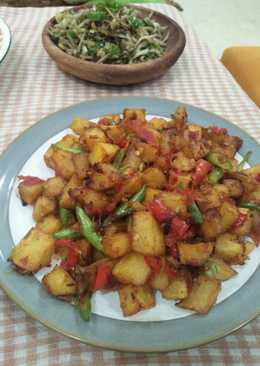Sambel goreng kentang (resep cici Xanders Kitchen)