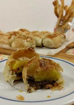 Pisang Bolen Puff Pastry