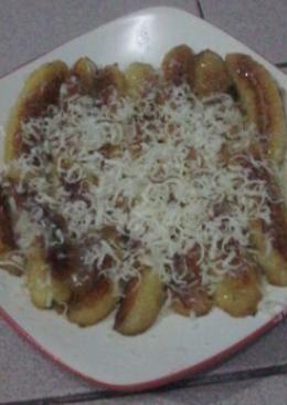 1 resep pisang keju alakadar nya enak dan sederhana   cookpad