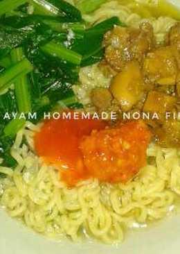 Mie Ayam Homemade ala Abang2