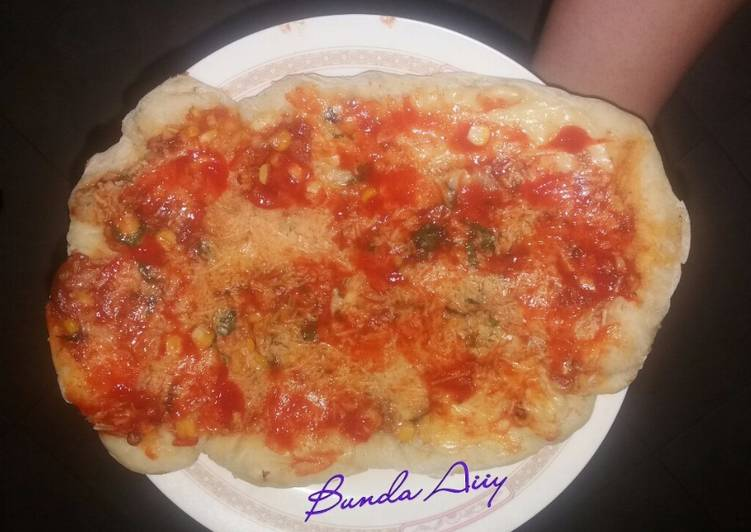 yang dibuat oleh Yayuk Kasih Astuti Arifin bisa menjadi  Resep Pizza alakadarnya (happycall) - Yayuk Kasih Astuti Arifin